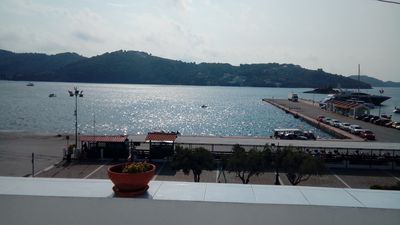 """Photo for """"Urania"""" town house, the most central house in Skiathos town, right on the sea"""