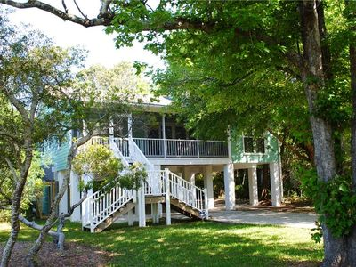 Photo for Santosha: 4 BR / 3 BA house in Pawleys Island, Sleeps 8