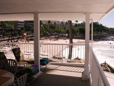 VIEW OF THE BEACH FROM YOUR LANAI