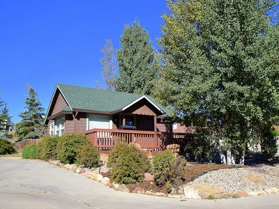 Photo for Romantic Charm,1907in-Town Cabin W/Hot Tub.Walk to Everything! Ideal Convenience