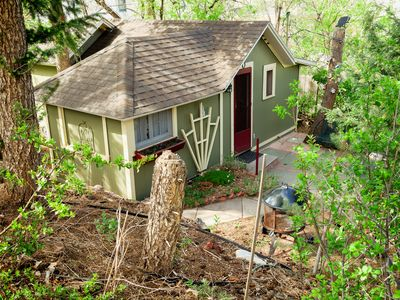 Photo for The Nest: a Cozy Garden Retreat Cottage In The Heart Of Downtown Manitou Springs