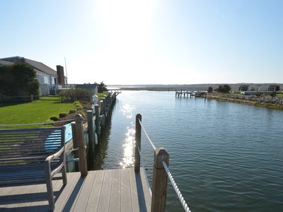 Photo for NEW - Beach 'n Boat House!!  Luxurious waterfront home w/private dock - amazing!