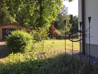 Photo for Relaxation in the middle of the Lüneburg Heath - Ferienhaus Schaepe