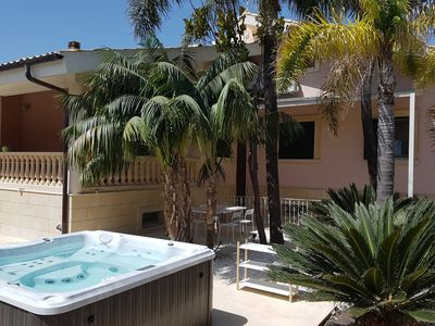 Photo for 3 apartments and 1 villa with large swimming pool with Kenzia tropical plants