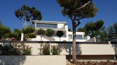 Photo for Superb villa 16/18 pers. 100m from the beach. Week from 20 to 27/07 available!