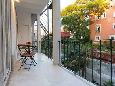 Photo for Apartment with terrace near Bairro Alto and Chiado