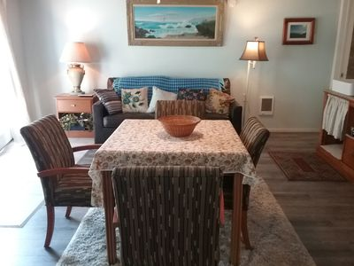 Photo for 1 BEDROOM SUITE #3 - across from PELICAN STATE BEACH - NO PETS - WE PAY 10% TAX!
