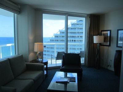 Photo for Beautiful Condo located in the HILTON FORT ;LAUDERDALE BEACH RESORT