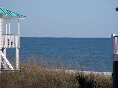 Photo for Edisto Beach Second Row Home w  Spectacular Ocean Views & Easy Beach Access