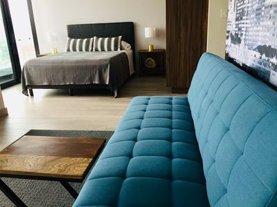 Photo for Loft Style Condo with Stunning View of Tijuana