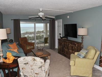 Photo for Gulf Front Two Bedroom Condo is Just Beachy!! ~ Steps to the Beach ~ Minutes from Exciting Attractions!