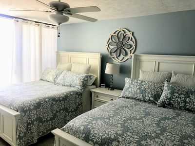 Updated beachside bedroom with new mattresses