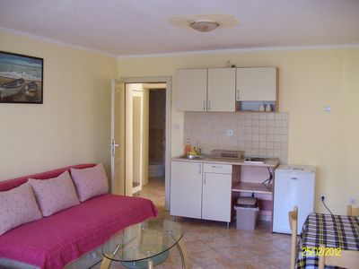 Apartments in Tivat,Montenegro on the waterfront.Beautiful studio apartment