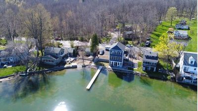 Photo for New Build On Conesus Lake.  Sleeps 6.  Designed For Entertaining.