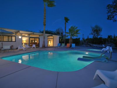 Photo for Palm Springs Mid-Century Modern 3br/2ba Pool & Spa Short drive to Downtown