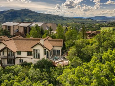 Photo for Vistas You Dream About! | Sweeping Resort Views | Private Hot Tub | Pool & Foosball
