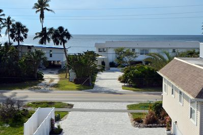 View Directly Across the Street with private gated access walking path to beach