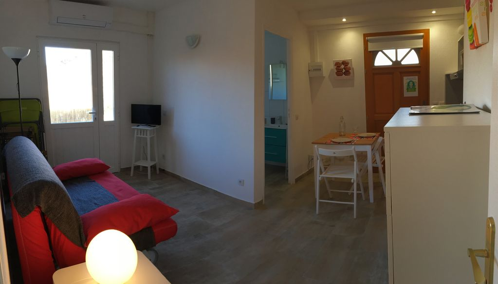 studio 20m2 nine- absolute tranquility - 1 mn walk from the sea ...