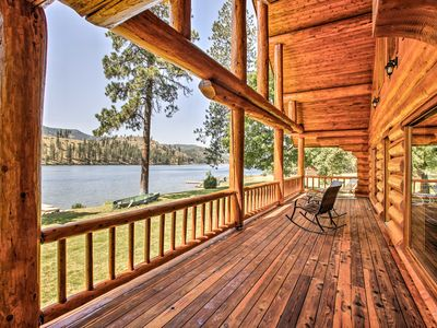 Photo for NEW! Riverfront Nine Mile Falls House w/ 3 Docks!