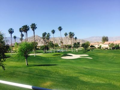 Photo for Location!! La Quinta Condo. Golfing, Tennis, Hiking, Stagecoach, Coachella.