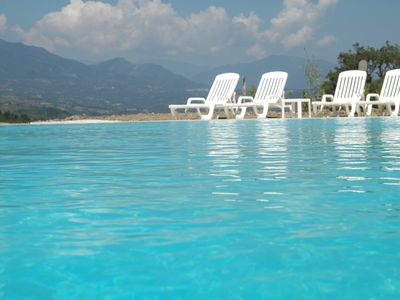 """Photo for Two-room apartment with a patio just steps from Palinuro in the countryside Cilento """"3"""""""