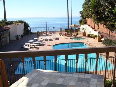 Photo for Oceanfront, Direct Beach Access, Pool, Jacuzzi, Downtown, Quiet