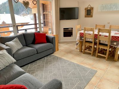 Photo for Spacious, family 3 bedroom duplex - only 50m from the ski slopes