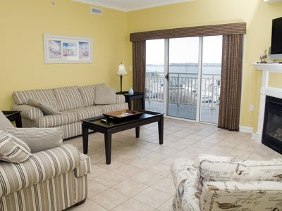 Photo for Close to Boardwalk! Outdoor Pool & Bay View - Bahia Vista II 502 (11th St.)