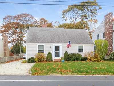 Photo for Walk to Falmouth Heights Beach from this 4 Bedroom 2 bath Cape Cod Charmer