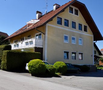 Photo for Private vacation home with patio and view of  the Untersberg