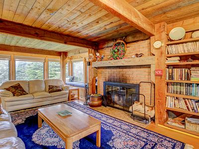 Photo for Comfortable hillside home w/ hot tub, shared pool, near forest trails