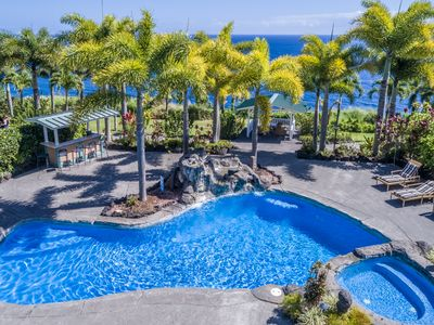 Photo for Bungalow #1 at Lai Nani Oceanfront Estate, private studio, pool and hot tub!