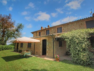 Photo for Detached villa on a hill with swimming pool, large garden and nice views