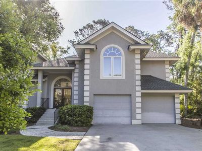 Photo for 34 Mooring Buoy | Dog Friendly Home | 3 Minute Walk to Beach | Private Pool | Palmetto Dunes