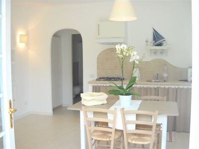 Photo for Lovely garden apartment, centrally located and close to the sea