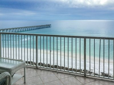 Photo for Luxury Beachfront Condo with Heated Pool