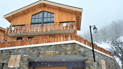 Photo for Luxurious Catered Chalet Hot Tub - La Plagne