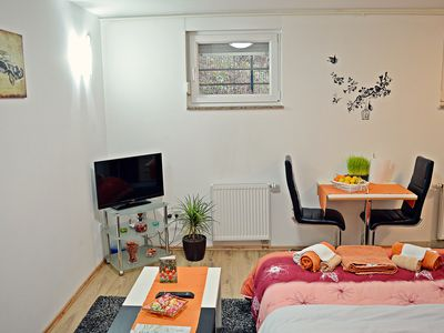 Photo for Apartments Tony*** Cozy Studio Apartment with Parking (Basment) - AP 3