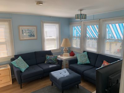 Photo for Charming Upper Cottage Downtown Rehoboth 1.5 Blks to Beach Sleeps 4 Pet friendly