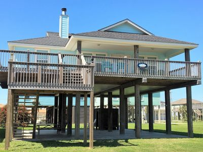 Photo for 3BR Cabin Vacation Rental in Crystal Beach, Texas