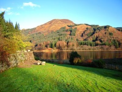 View of Loch Dhu from cottage