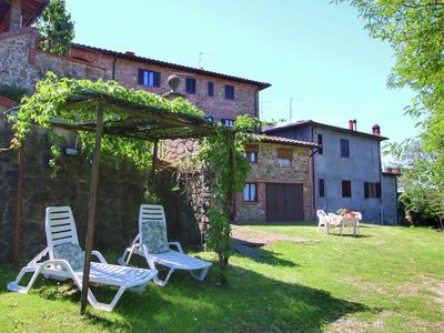Photo for Spacious Holiday Home in Bucine with Pool