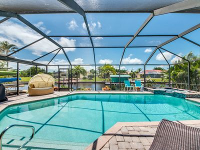Photo for Exotic Property, Saltwater Heated Pool & Spa, Kayaks and Kayaks Launch - Villa De Nona - Cape Coral