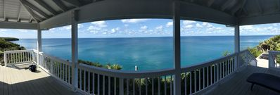 Panoramic view looking out!