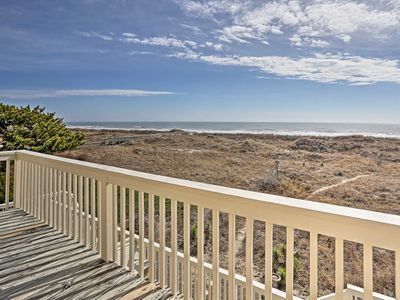Photo for Sunset Beach Home w/Deck & Views - Steps to Beach!