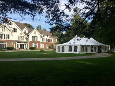 DIY weddings up to  100 guests. Added facility fee $1000-$2500 + tent rental