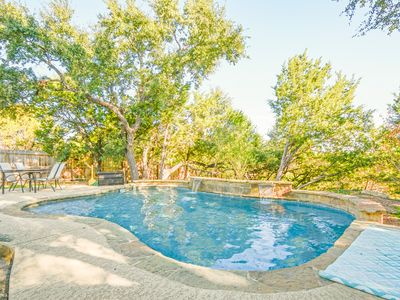 Photo for Spacious 4BR w/ Pool, Hill Country Views & Fenced Yard - Close to Lake Travis