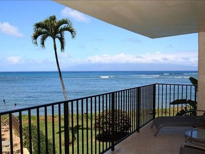Photo for Magnificent Ocean Views from Your West Maui Beachfront Condo