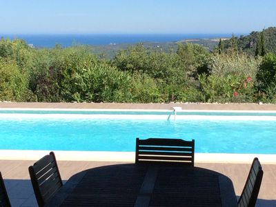 Photo for Villa sea view, in calm and greenery, ideal for your holidays !!!