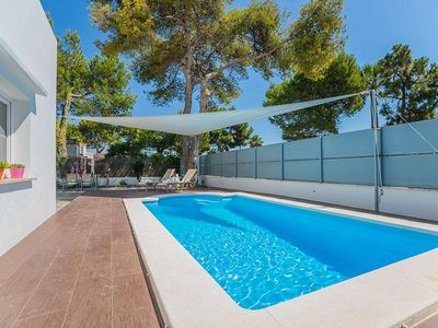 Photo for The modern holiday home Falco is located in the heart of Alcudia in a quiet residential area